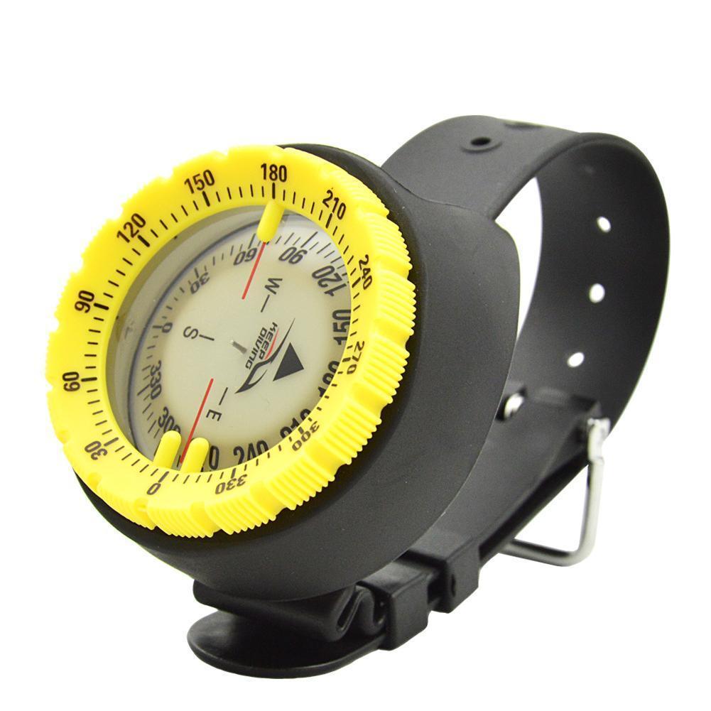 Compass 50m Watch Balanced Waterproof Compass Underwater Compass Diving Scuba Compass Compass Luminous